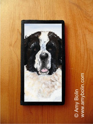 CHECKBOOK COVER · CHARLIE'S SNOW DAY · SAINT BERNARD · AMY BOLIN