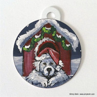 DOUBLE SIDED PET ID TAG · BELIEVE · GREAT PYRENEES · AMY BOLIN