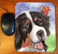 MOUSE PAD · AUTUMN BERNER · BERNESE MOUNTAIN DOG · AMY BOLIN