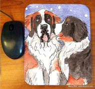 MOUSE PAD · LITTLE KISS · BERNESE MOUNTAIN DOG, SAINT · AMY BOLIN