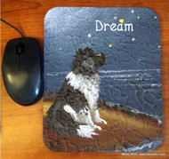 MOUSE PAD · DREAM · LANDSEER NEWFOUNDLAND · AMY BOLIN