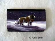 LARGE ORGANIZER WALLET · A RAY OF HOPE · SAINT BERNARD · AMY BOLIN