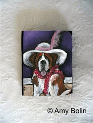 SMALL ORGANIZER WALLET · ALL DRESSED UP WITH NOWHERE TO GO · SAINT BERNARD · AMY BOLIN