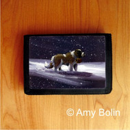 TRIFOLD WALLET · A RAY OF HOPE ·  SAINT BERNARD · AMY BOLIN