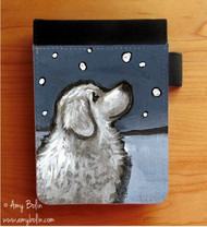 NOTEBOOKS (SEVERAL SIZES AVAILABLE) · COUNTING SNOWFLAKES · GREAT PYRENEES · AMY BOLIN