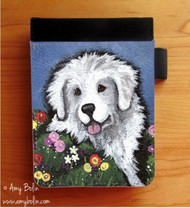 NOTEBOOKS (SEVERAL SIZES AVAILABLE) · MOM'S FAVORITE FLOWER · GREAT PYRENEES · AMY BOLIN