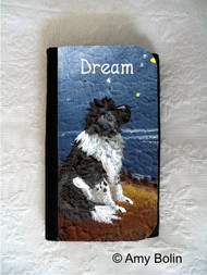 LARGE ORGANIZER WALLET · DREAM · LANDSEER  NEWFOUNDLAND · AMY BOLIN