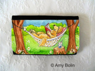 LARGE ORGANIZER WALLET · SUMMER IS FOR READING · GOLDEN RETRIEVER · AMY BOLIN