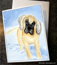 NOTE CARDS · MY FIRST WINTER · GREAT DANE · AMY BOLIN
