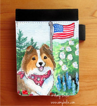 NOTEBOOKS (SEVERAL SIZES AVAILABLE) · PROUD TO BE AMERICAN · SABLE SHELTIE · AMY BOLIN