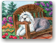 MAGNET · SUMMER'S SIMPLE PLEASURES  · OLD ENGLISH SHEEPDOG  · AMY BOLIN