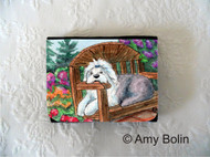 SMALL ORGANIZER WALLET · SUMMER'S SIMPLE PLEASURES  · OLD ENGLISH SHEEPDOG · AMY BOLIN