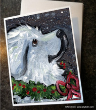 NOTE CARDS · CHRISTMAS TRADITIONS · GREAT PYRENEES · AMY BOLIN