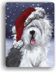 MAGNET · SHAGGY CLAWS · OLD ENGLISH SHEEPDOG · AMY BOLIN