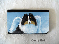 LARGE ORGANIZER WALLET · MY SWEET ANGEL · TRI COLOR SHELTIE · AMY BOLIN
