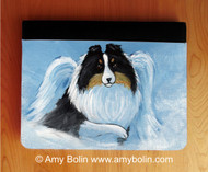 NOTEBOOKS (SEVERAL SIZES AVAILABLE) · MY SWEET ANGEL · TRI COLOR SHELTIE · AMY BOLIN