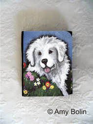 SMALL ORGANIZER WALLET · MOM'S FAVORITE FLOWER · GREAT PYRENEES · AMY BOLIN