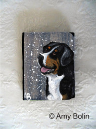 SMALL ORGANIZER WALLET · SWISSY · GREATER SWISS MOUNTAIN DOG · AMY BOLIN