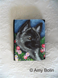 SMALL ORGANIZER WALLET · MOM'S FAVORITE FLOWER · NORWEGIAN ELKHOUNDS · AMY BOLIN