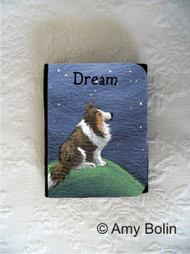 SMALL ORGANIZER WALLET · DREAM  · SABLE  SHELTIE · AMY BOLIN