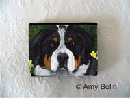 SMALL ORGANIZER WALLET · PIPER · GREATER SWISS MOUNTAIN DOG · AMY BOLIN