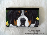 LARGE ORGANIZER WALLET · PIPER · GREATER SWISS MOUNTAIN DOG · AMY BOLIN