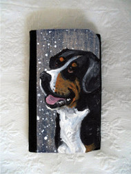 LARGE ORGANIZER WALLET · SWISSY · GREATER SWISS MOUNTAIN DOG · AMY BOLIN