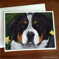 NOTE CARDS · PIPER · GREATER SWISS MOUNTAIN DOG · AMY BOLIN