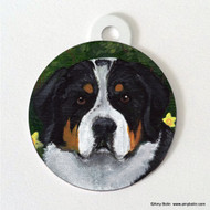 DOUBLE SIDED PET ID TAG · PIPER · GREATER SWISS MOUNTAIN DOG · AMY BOLIN