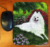 MOUSE PAD · SUMMER BLISS · SAMOYED · AMY BOLIN