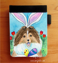 NOTEBOOKS (SEVERAL SIZES AVAILABLE) · EASTER SHELTIE · SABLE SHELTIE · AMY BOLIN