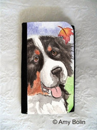 LARGE ORGANIZER WALLET · AUTUMN BERNER · BERNESE MOUNTAIN DOG · AMY BOLIN