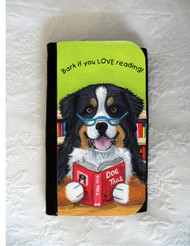 LARGE ORGANIZER WALLET · DOG TAILS VOL 4 · BERNESE MOUNTAIN DOG · AMY BOLIN