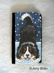 LARGE ORGANIZER WALLET · LET'S PLAY · BERNESE MOUNTAIN DOG · AMY BOLIN