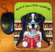 MOUSE PAD · DOG TAILS VOL 4 · BERNESE MOUNTAIN DOG · AMY BOLIN