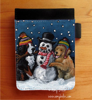 NOTEBOOKS (SEVERAL SIZES AVAILABLE) · FRIENDS OF SNOW NEED LOVE TO GROW · BERNESE MOUNTAIN DOG, GOLDEN RETRIEVER · AMY BOLIN
