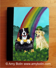 NOTEBOOKS (SEVERAL SIZES AVAILABLE) · MY POT O GOLD · BERNESE MOUNTAIN DOG, GOLDEN RETRIEVER · AMY BOLIN