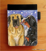 NOTEBOOKS (SEVERAL SIZES AVAILABLE) · LITTLE KISS · BERNESE MOUNTAIN DOG, MASTIFF · AMY BOLIN