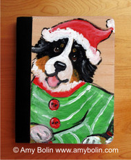 NOTEBOOKS (SEVERAL SIZES AVAILABLE) · CHRISTMAS CUDDLIES · BERNESE MOUNTAIN DOG · AMY BOLIN