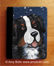 NOTEBOOKS (SEVERAL SIZES AVAILABLE) · COUNTING SNOWFLAKES · BERNESE MOUNTAIN DOG · AMY BOLIN