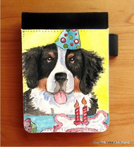 NOTEBOOKS (SEVERAL SIZES AVAILABLE) · HAPPY BIRTHDAY · BERNESE MOUNTAIN DOG · AMY BOLIN