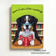 MAGNET · DOG TAILS VOL 4 · BERNESE MOUNTAIN DOG · AMY BOLIN