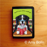 TRIFOLD WALLET · DOG TAILS VOL 4 · BERNESE MOUNTAIN DOG · AMY BOLIN