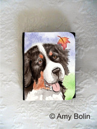 SMALL ORGANIZER WALLET · AUTUMN BERNER · BERNESE MOUNTAIN DOG · AMY BOLIN