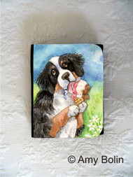 SMALL ORGANIZER WALLET · MAKE MINE NEAPOLITAN · BERNESE MOUNTAIN DOG · AMY BOLIN