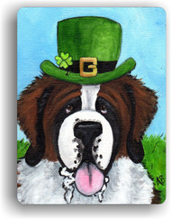 MAGNET · A BIG, WET IRISH KISS · SAINT BERNARD · AMY BOLIN