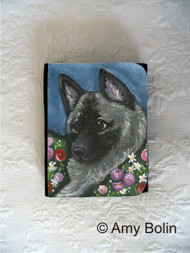 SMALL ORGANIZER WALLET · MOM'S FAVORITE DAISY · NORWEGIAN ELKHOUNDS · AMY BOLIN