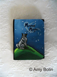 SMALL ORGANIZER WALLET · MOOSE MAGIC · NORWEGIAN ELKHOUNDS · AMY BOLIN