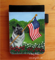 NOTEBOOKS (SEVERAL SIZES AVAILABLE) · PROUD TO BE AMERICAN · NORWEGIAN ELKHOUND · AMY BOLIN