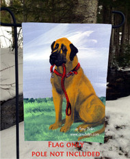 GARDEN FLAG · LET'S GO · GREAT DANE · AMY BOLIN